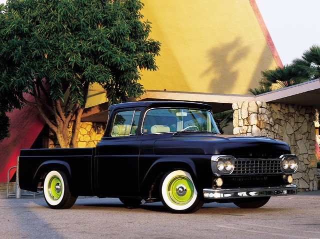 1957 Cars Restored Or Wallpapers 1958 Ford F 100 Custom Truck Hot Rod Network