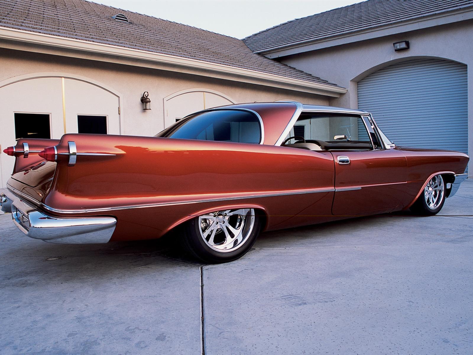 4k Wallpaper Muscle Car 1957 Chrysler Imperial Custom Hot Rod Network
