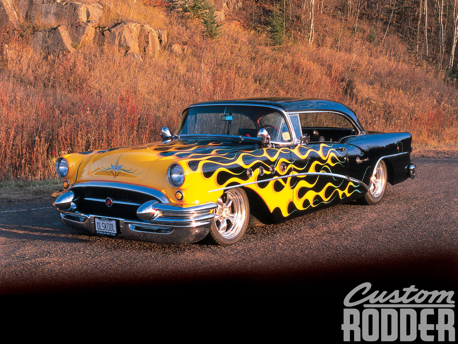 Old Time Car Wallpaper 1955 Buick Special Hot Rod Network