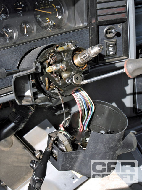 GM Steering Column Repair - How To Fix A Monte Carlo Tilt Column