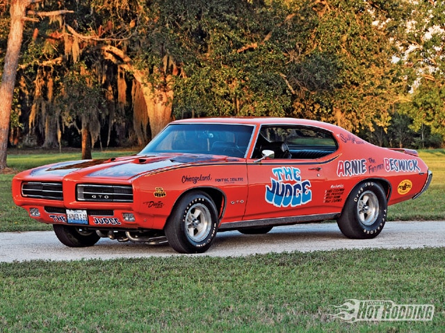 Bobcat Car Wallpaper 1969 Pontiac Gto Not All Judges Wear Black Hot Rod Network