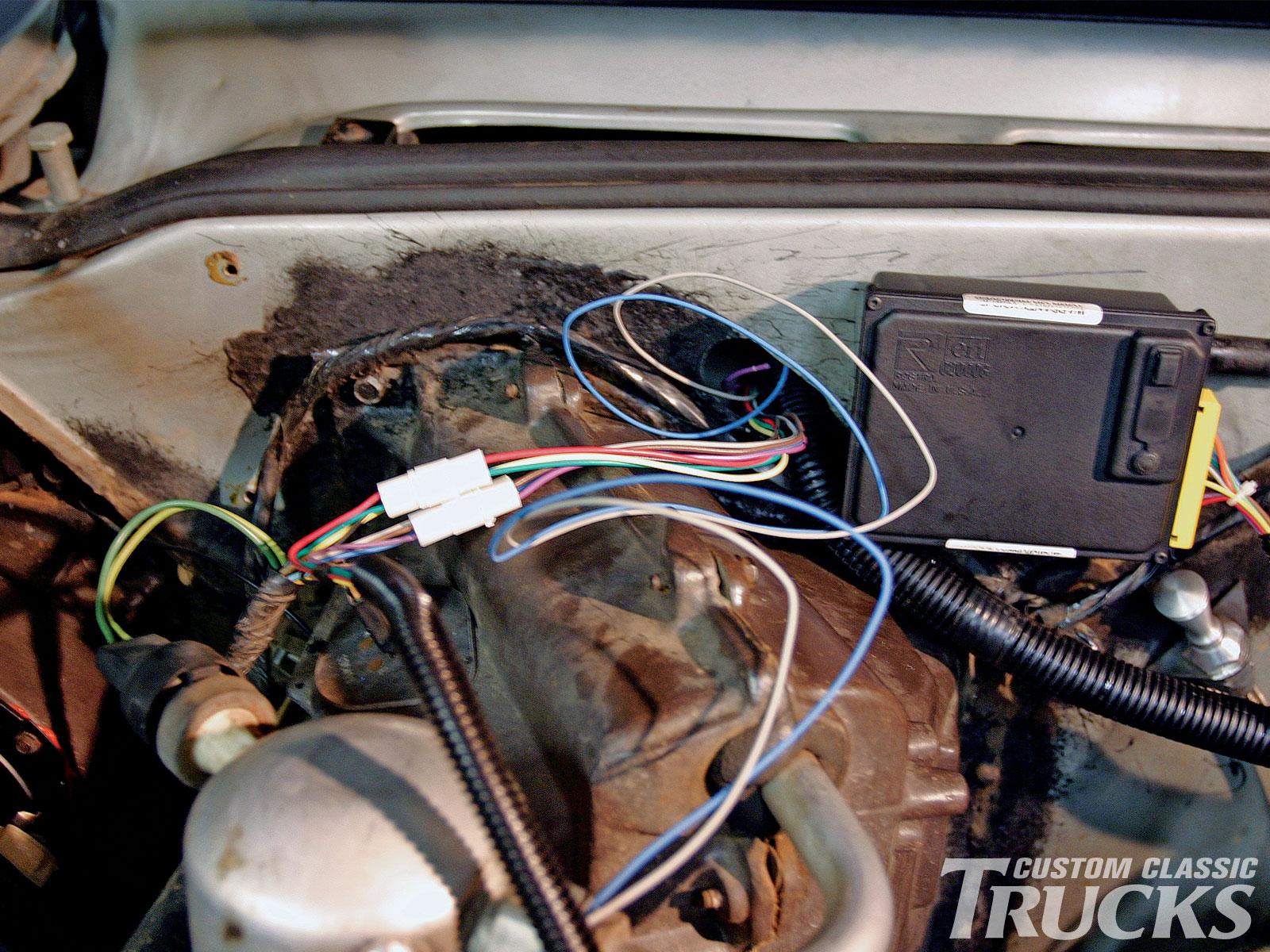 87 Chevy R10 Wiring Diagram 1973 1987 Chevy C10 Dakota Digital Cruise Control Install