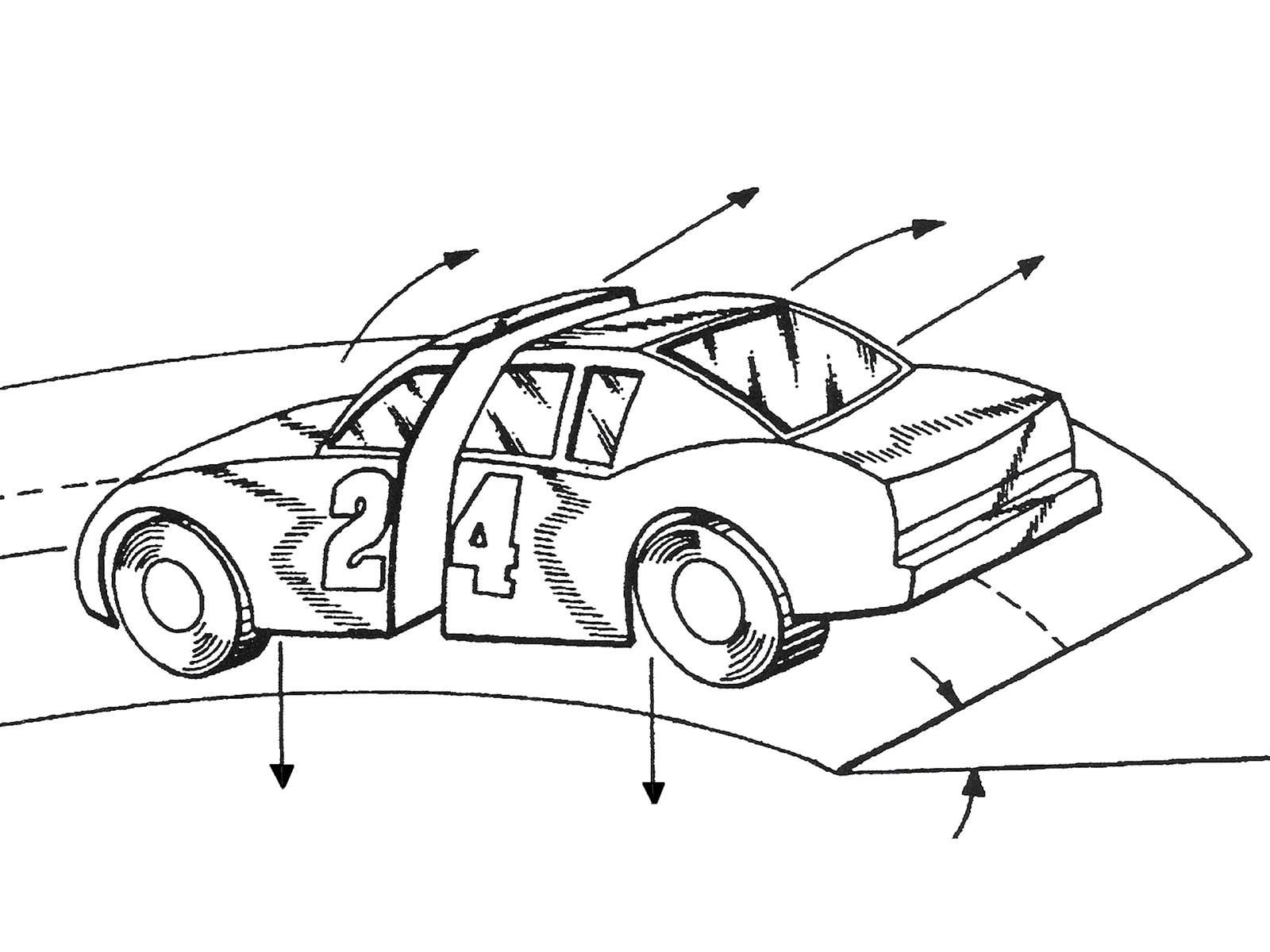 race car chassis diagram 4