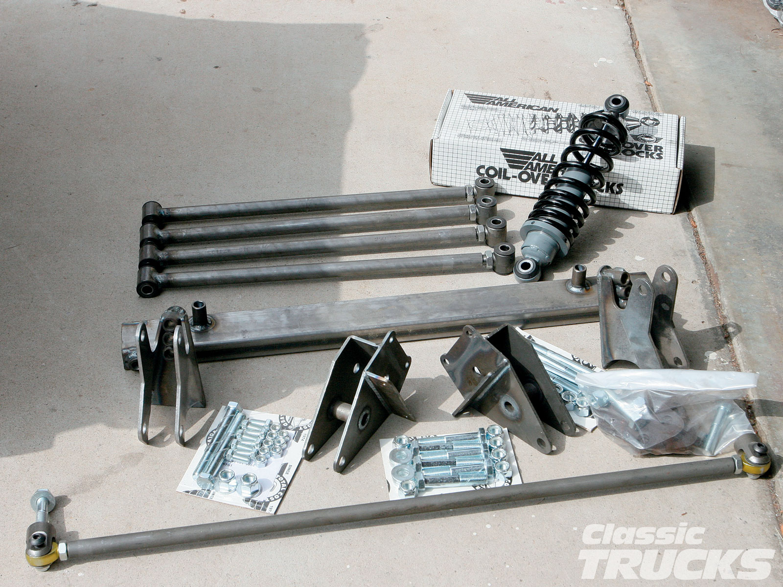Suspension Bar Installing A Coilover/four-bar Rear Suspension System