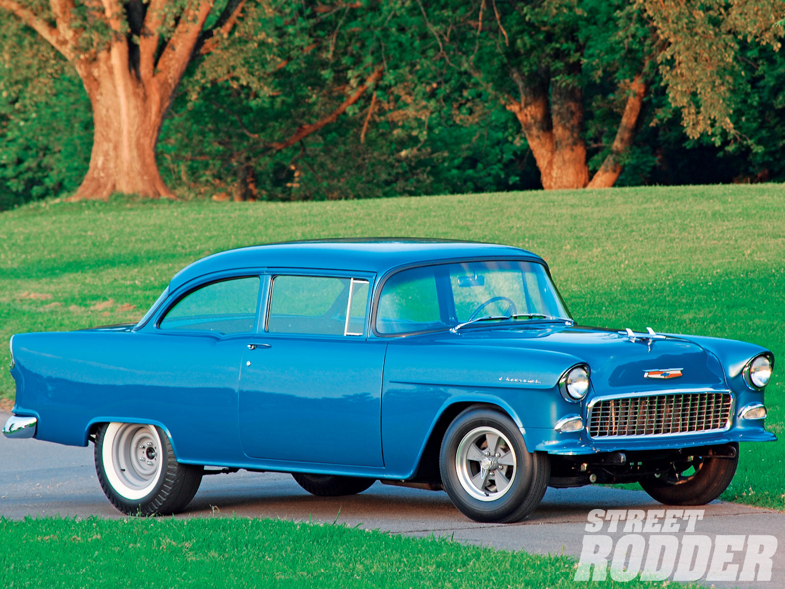 Classic Car Wallpaper 57 Chevy 1955 Chevy 150 Hot Rod Network