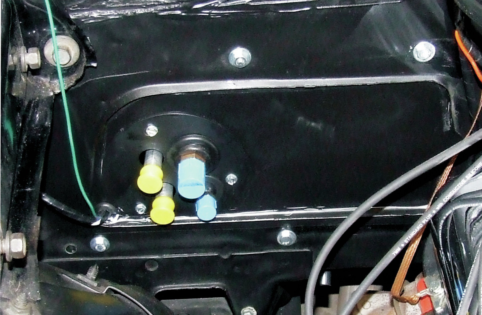 65 Mustang Heater Wiring Diagram Installing Air Conditioning In Your Muscle Car Hot Rod