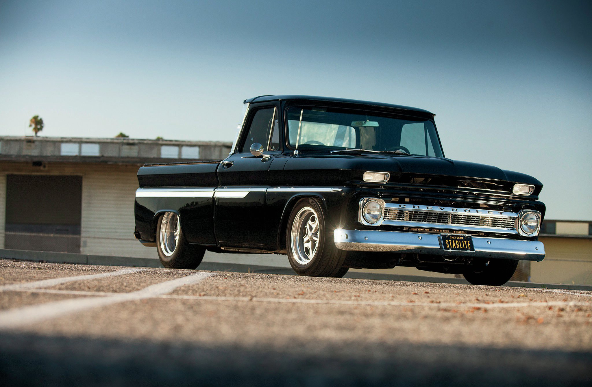 4k Wallpaper Muscle Car 1964 Chevy C10 What Goes Around Hot Rod Network