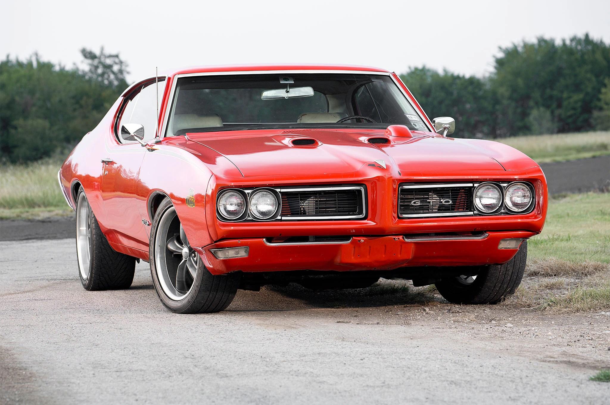 Classic Mustang Car Wallpaper 1969 Pontiac Gto Too Legit To Quit Hot Rod Network