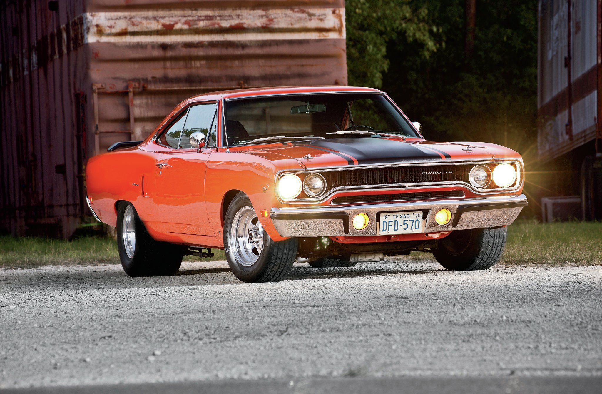 Street Racing Cars Wallpaper With Girls 1970 Plymouth Road Runner Worth The Wait Hot Rod Network