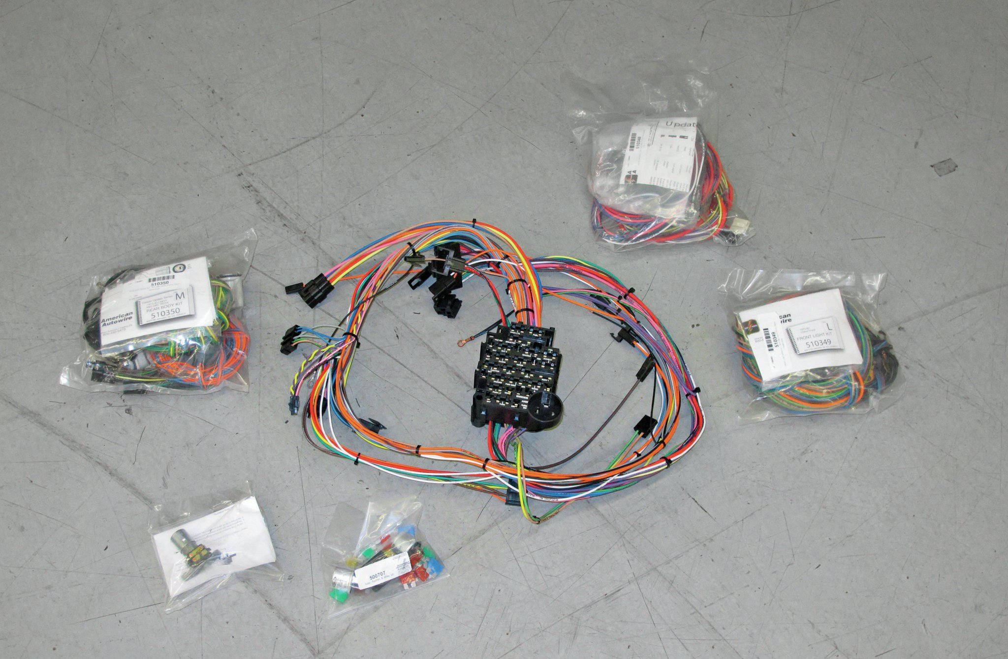 American Autowire Highway 22 Wiring Harness Kits 500695 Auto Diagram 25 Images
