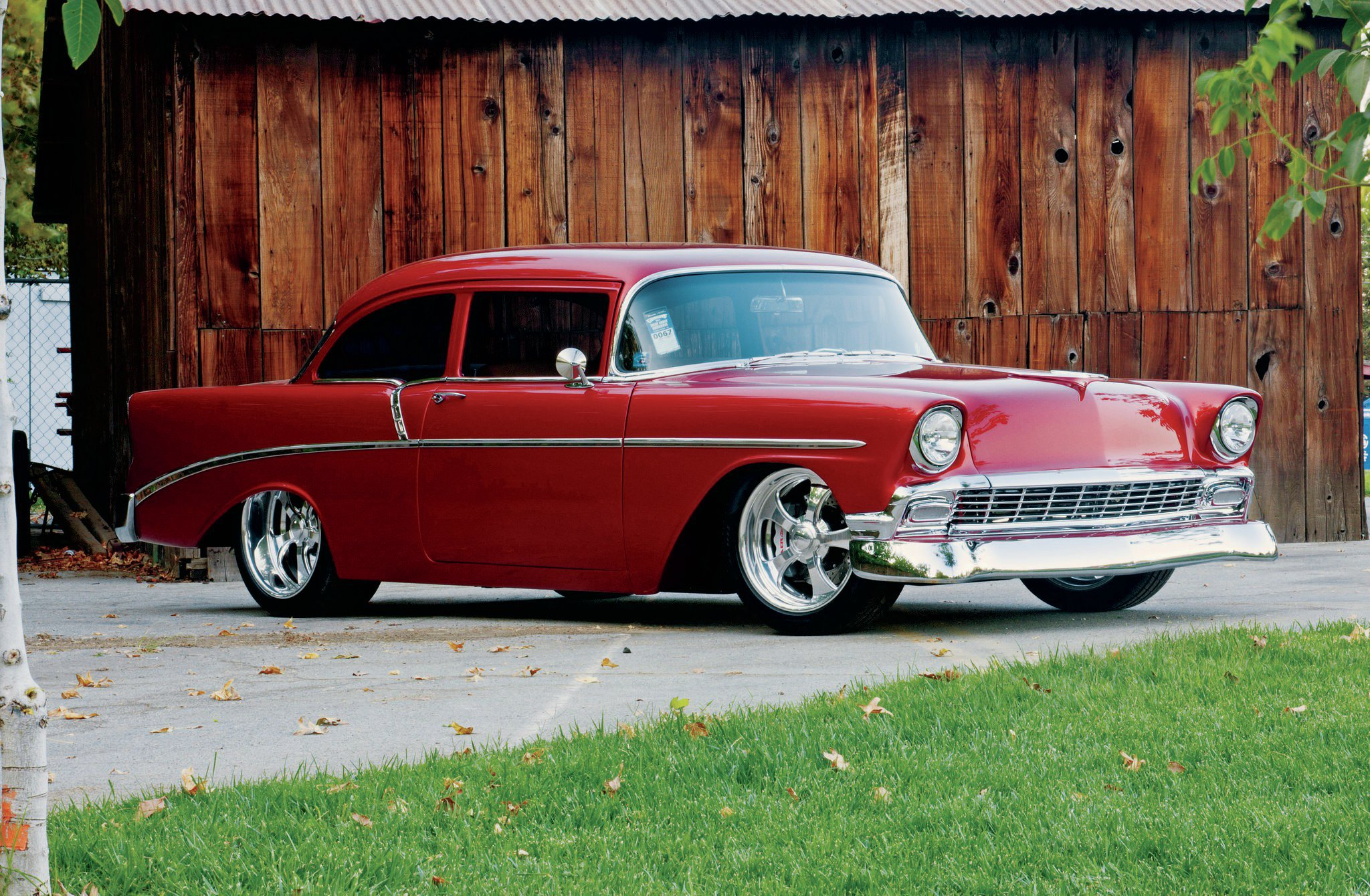 Street Racing Cars Wallpaper With Girls 1956 Chevrolet 210 Prize Possession Hot Rod Network