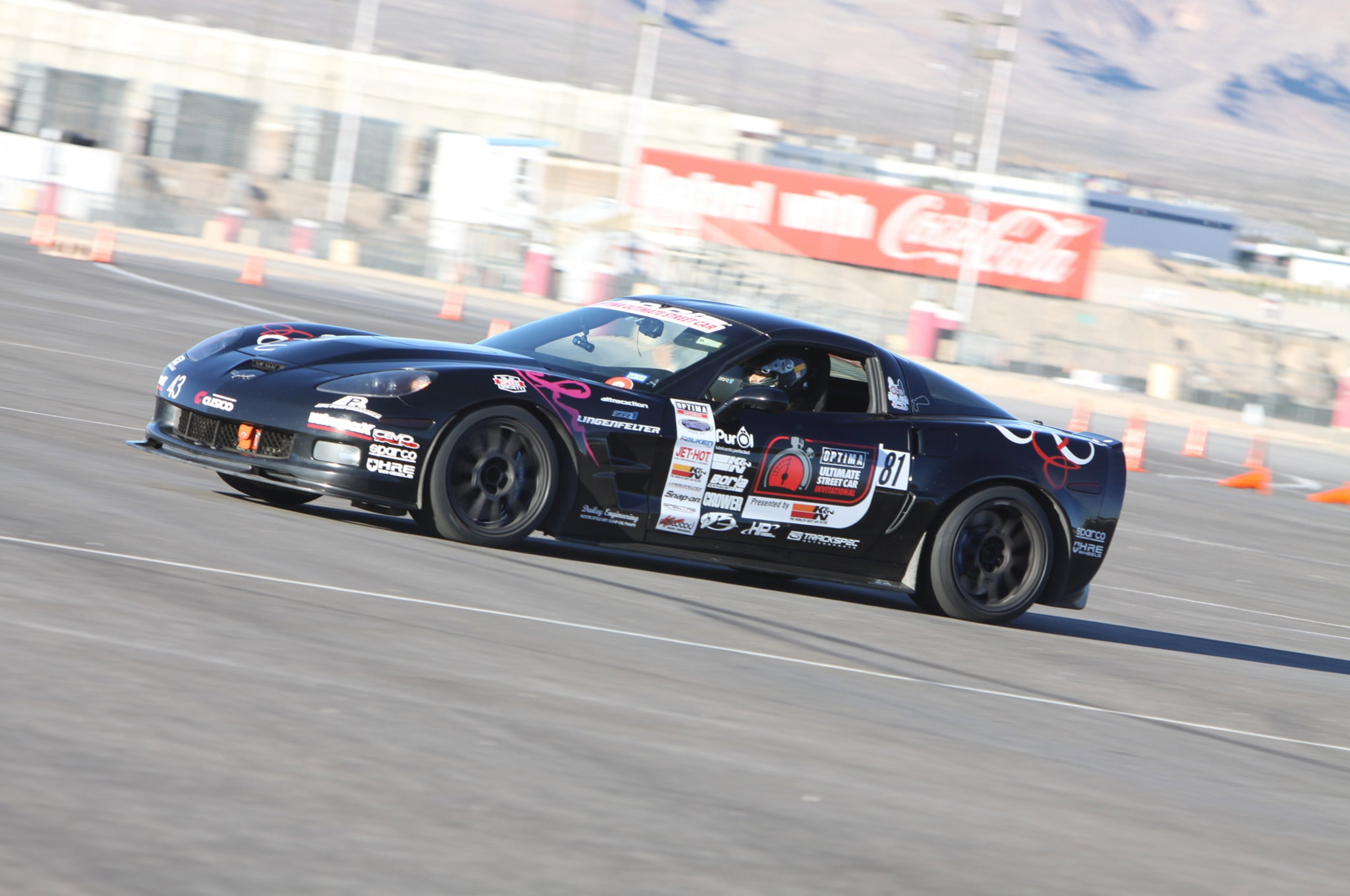 Ohre Classic Corvette Wins The 2015 Optima Ultimate Street Car Invitational