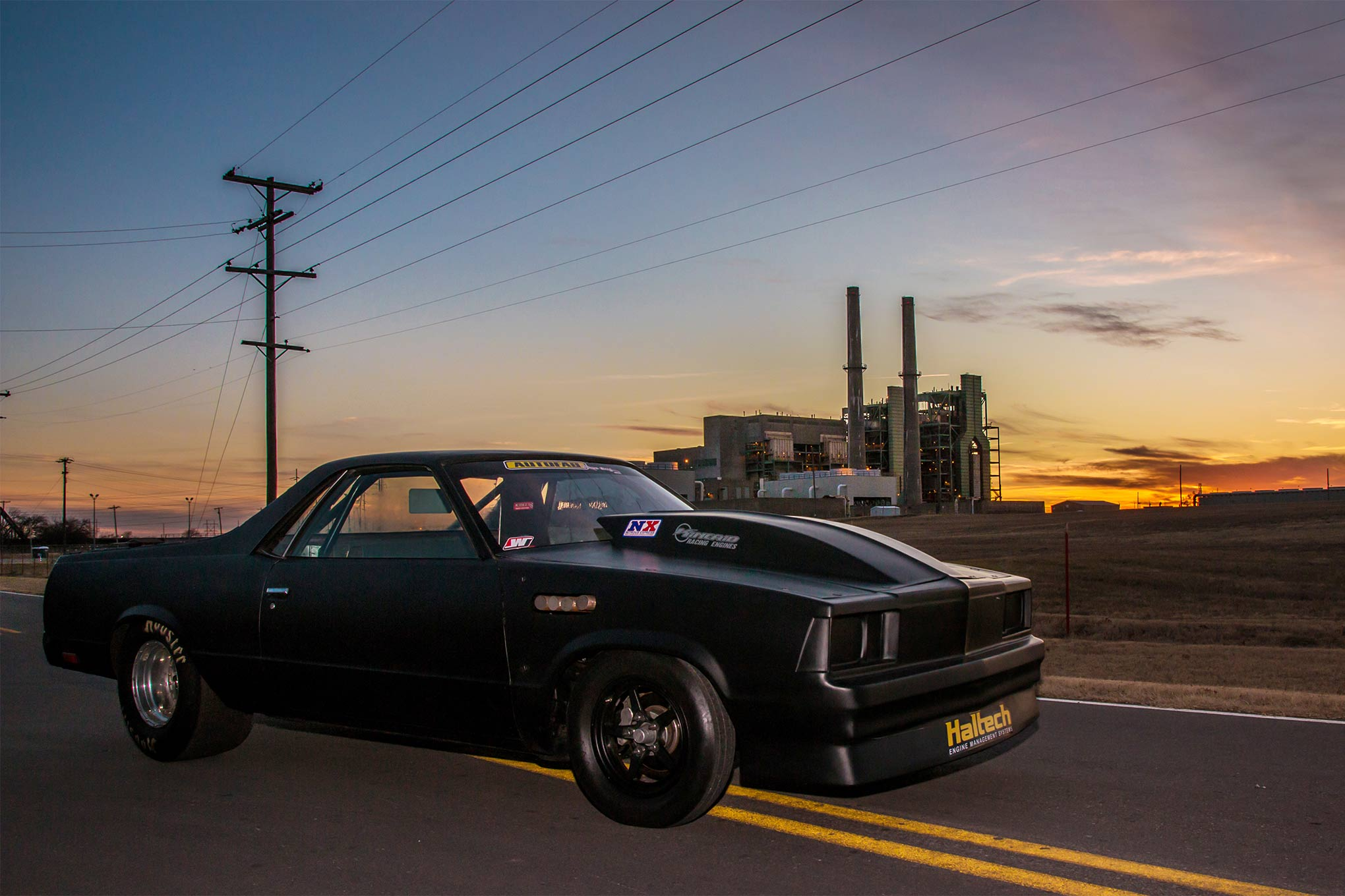 Old Classic El Camino Muscle Cars Wallpaper Street Outlaws Kamikaze Chris And The Elco Hot Rod Network