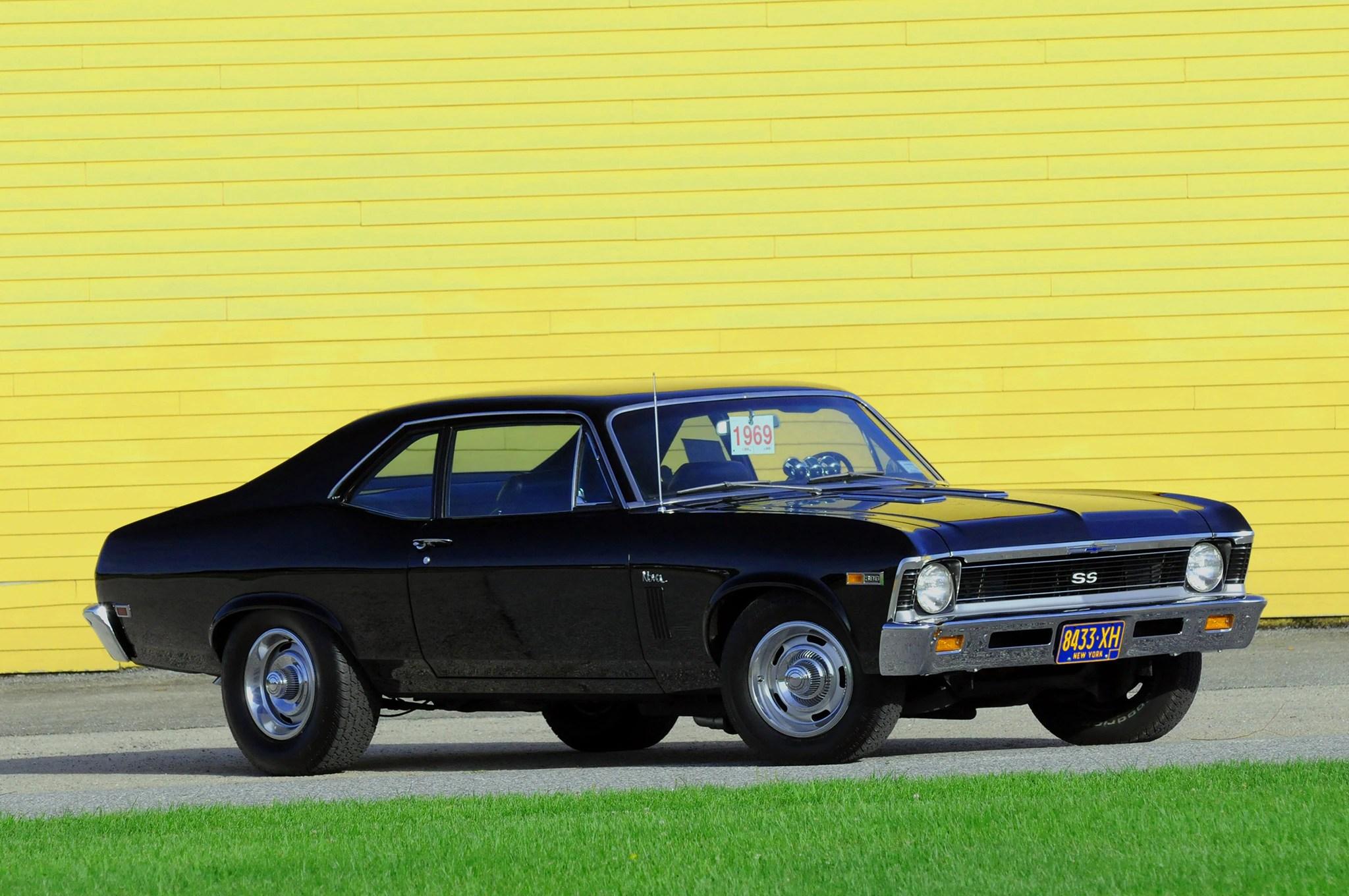 Free Classic Car Wallpaper Big Block 1969 Chevrolet Nova Ss Has Seen It All From