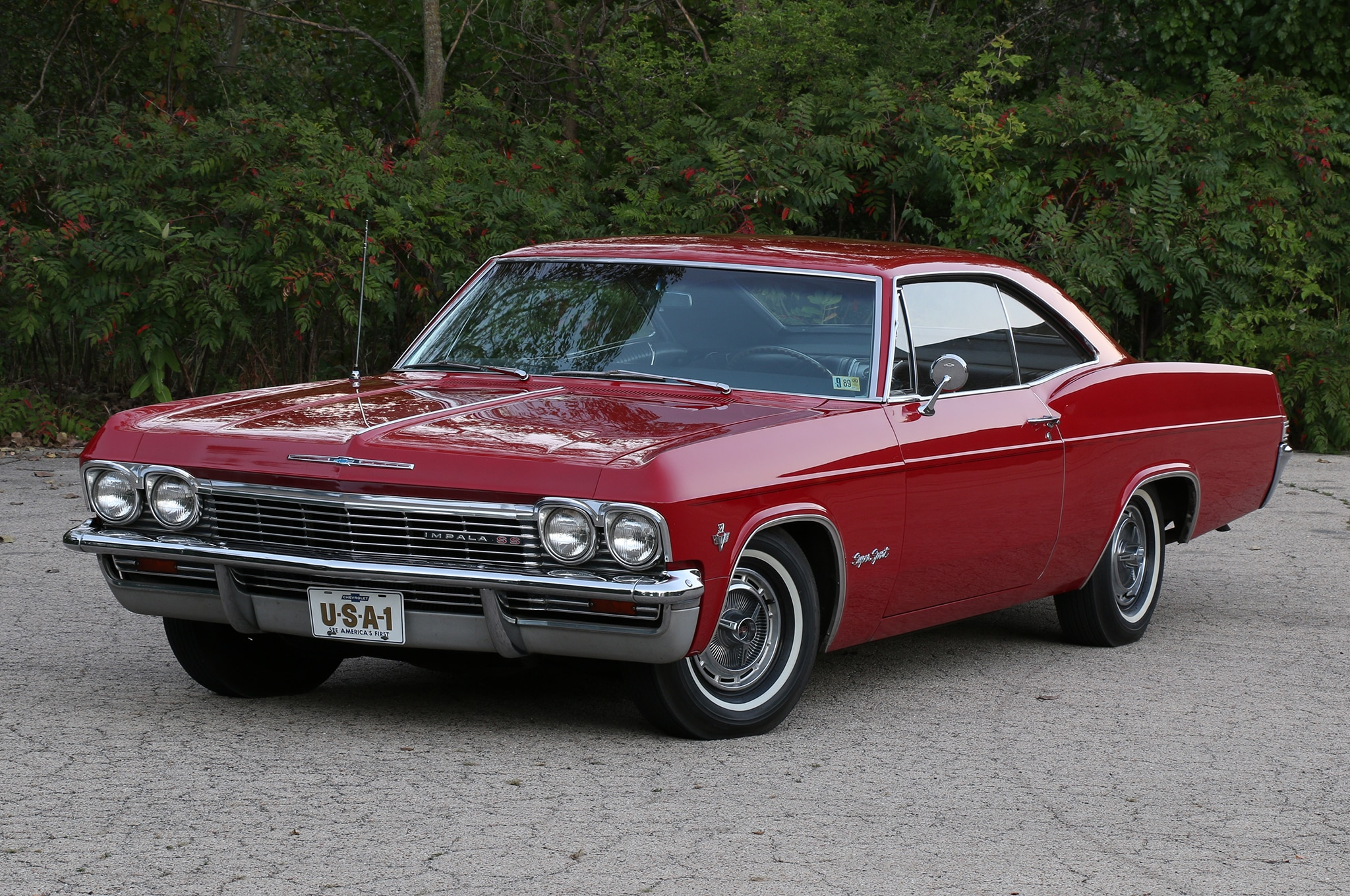 Cool Old Cars Wallpapers Immaculate Unrestored 1965 Chevrolet Impala Ss Shows Just