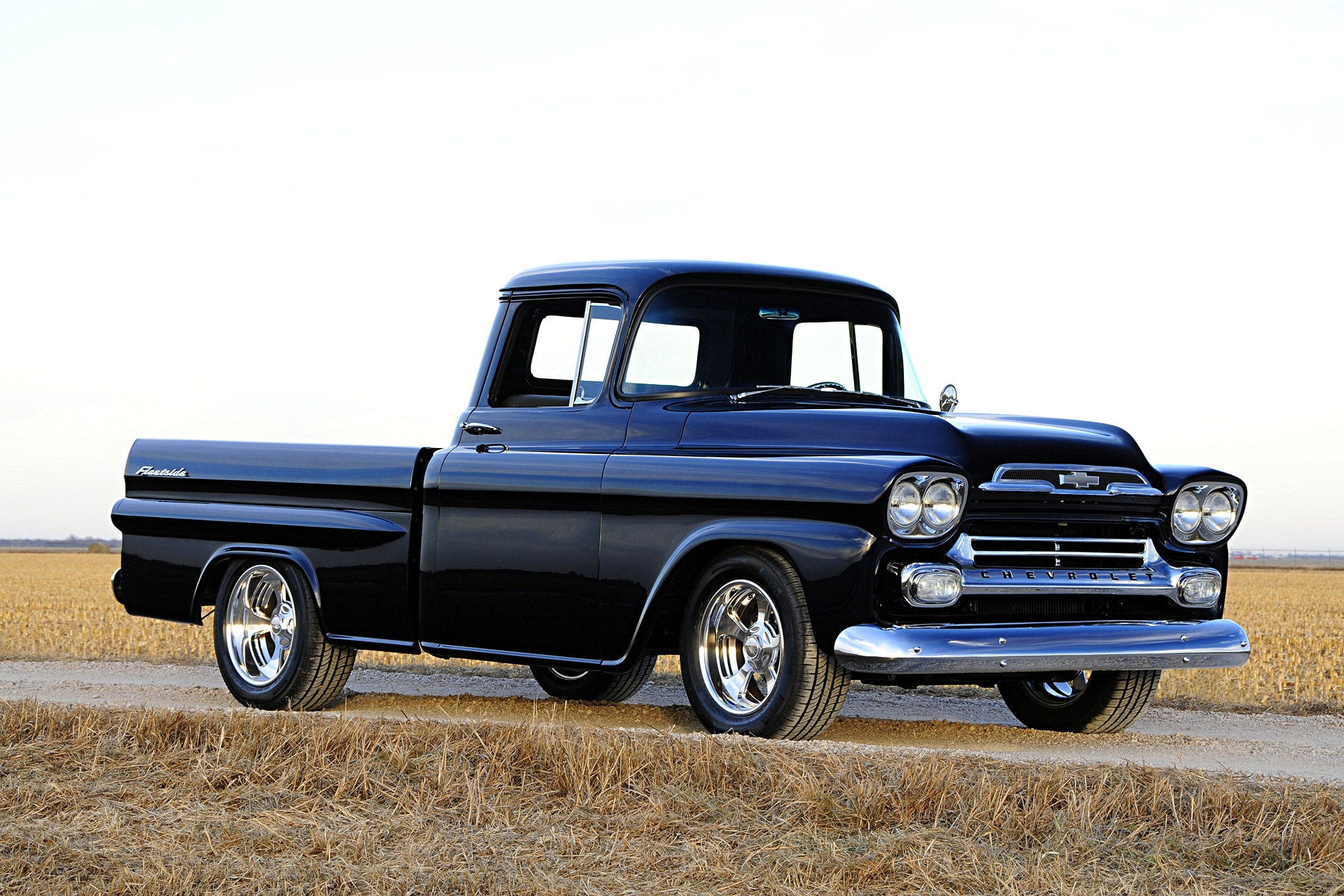 Car Dashboard Wallpaper Lyle Brown S 1959 Chevy Apache Has A Rich Family History