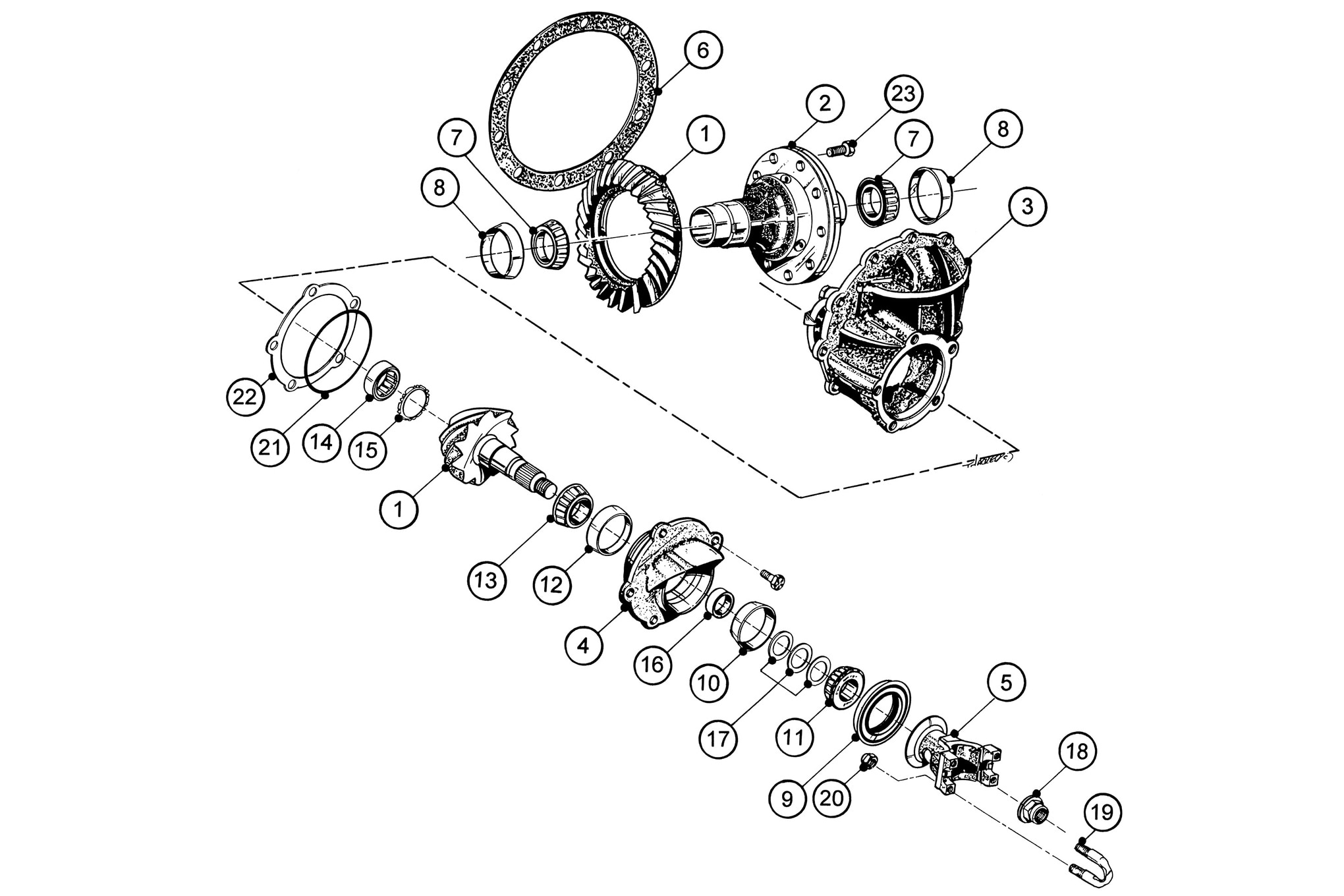 inch ford rear end diagram 8