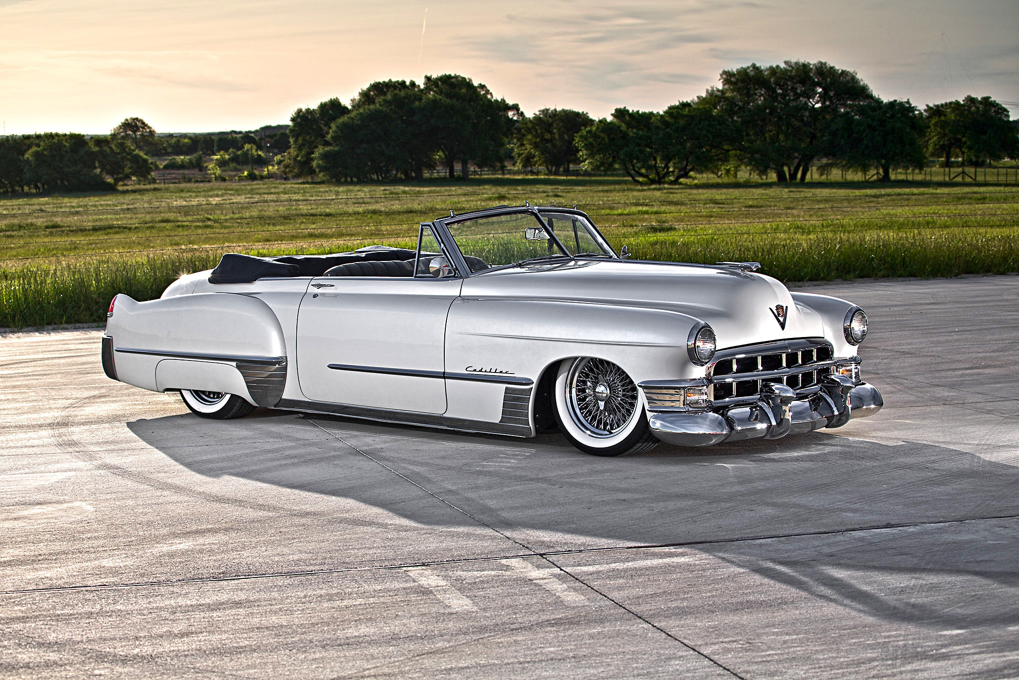 Lowrider Car Wallpaper Supercharged 975hp 1949 Caddy Delivers In Luxury Hot Rod