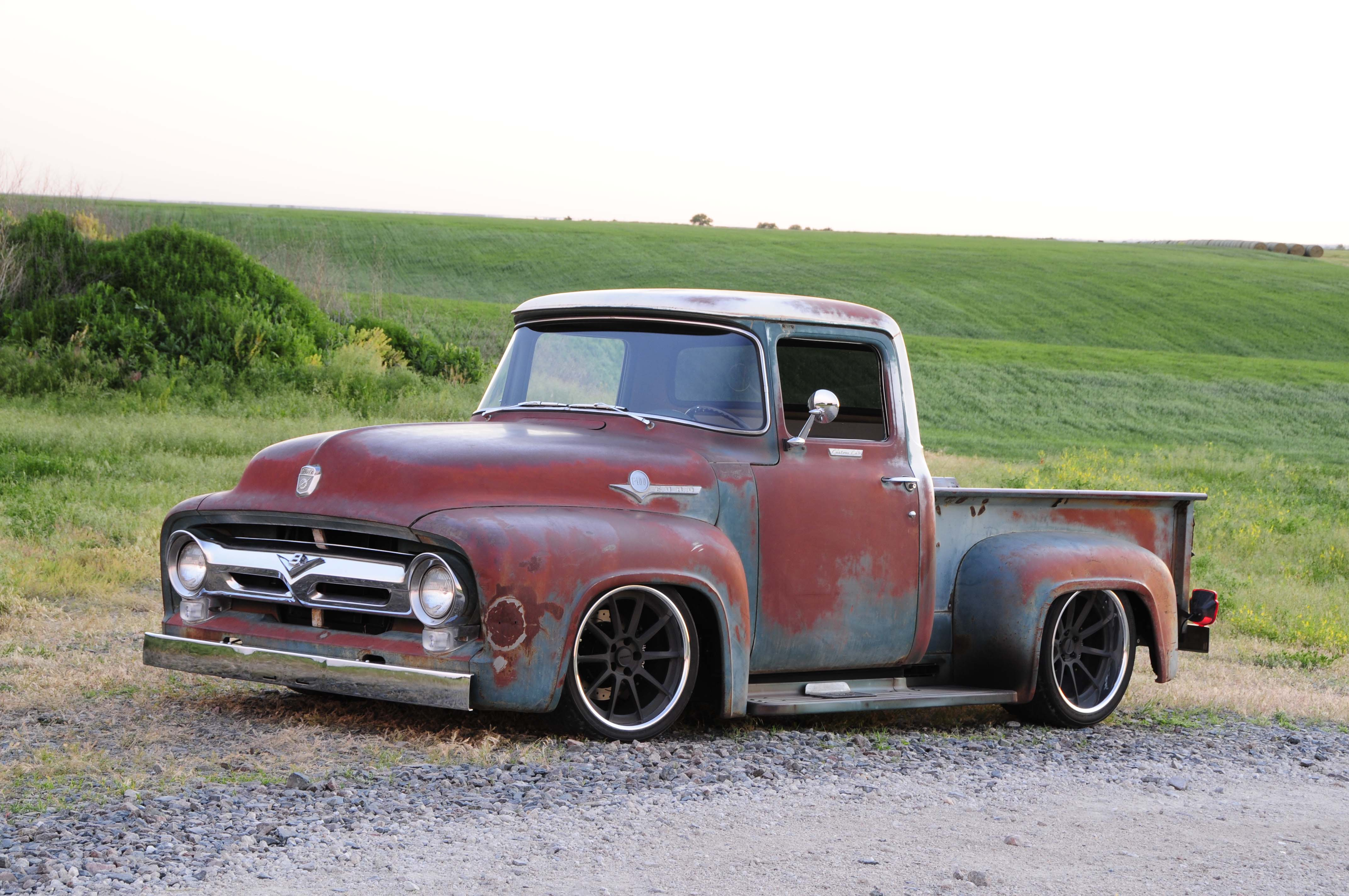 The Ultimate Sleeper 1956 Ford F 100 With Small Block V 8