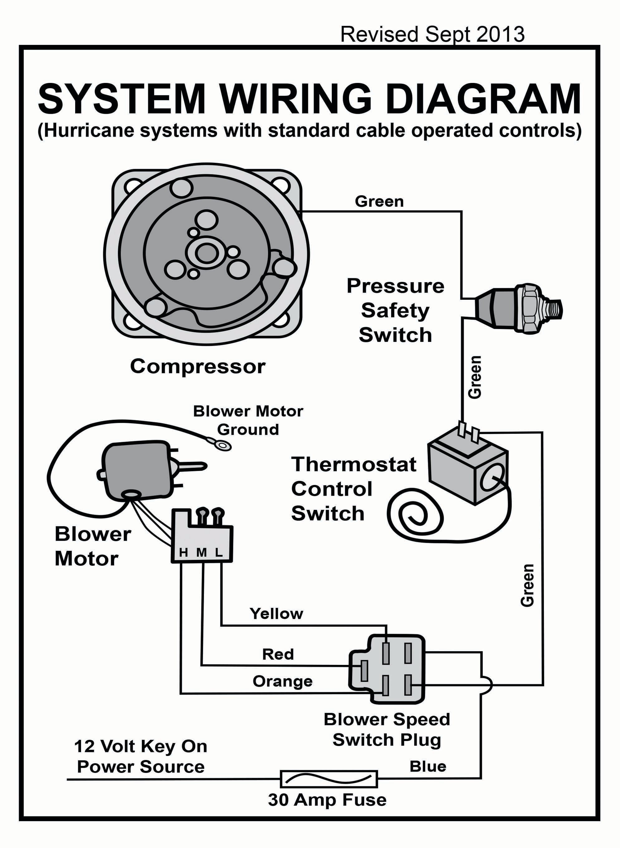 wiring diagram for heat air