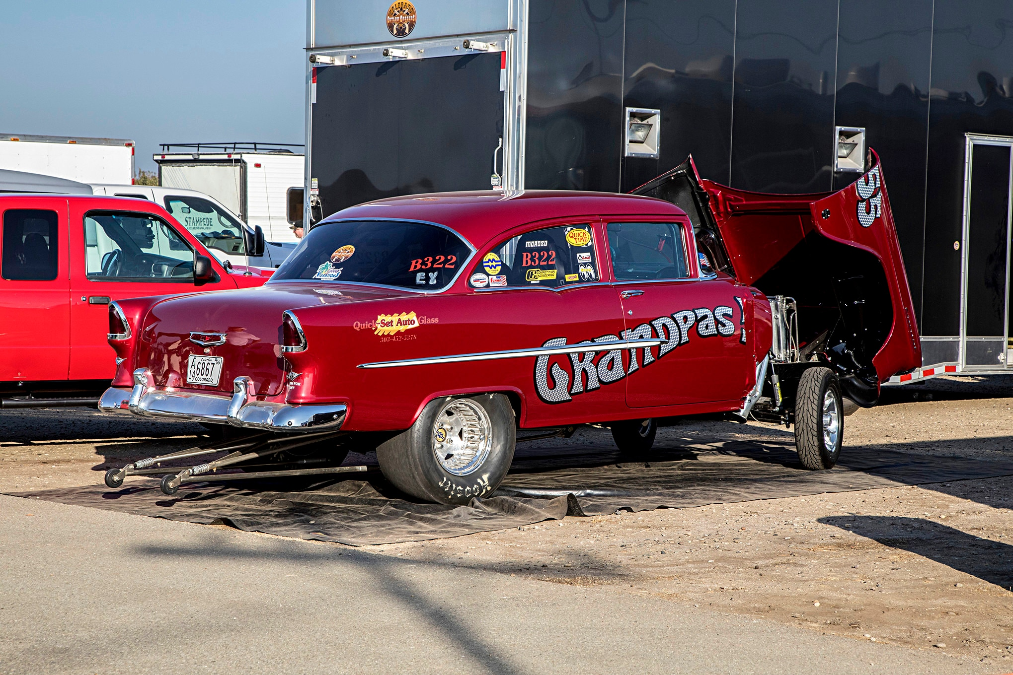 Cars Schrank Retro Racing At The 2018 California Hot Rod Reunion Automoto Tale
