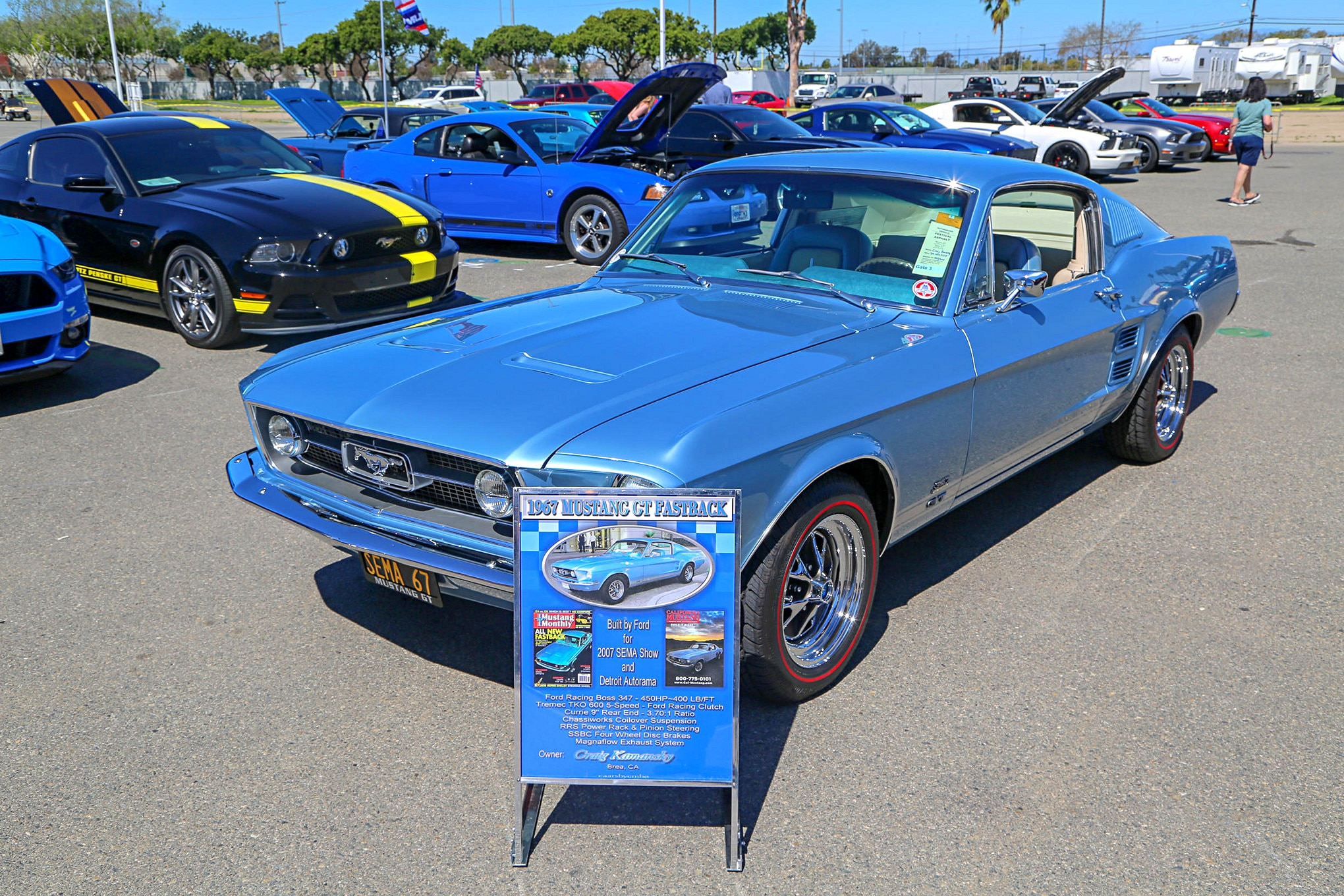 Arte Replay Mustang Third Annual Classic Auto Show 2019