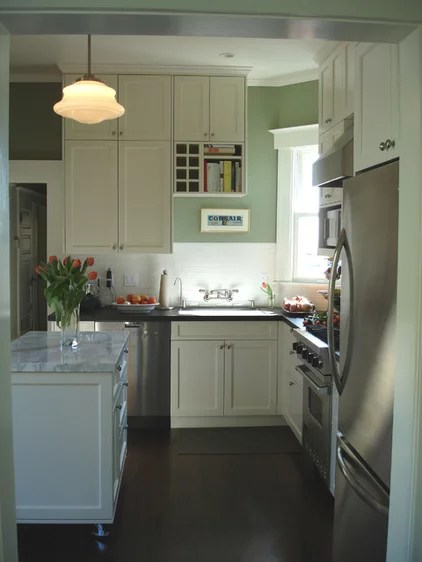 ways small kitchen feel bigger home decor design clean lines big corbels ornate cabinetry fussy