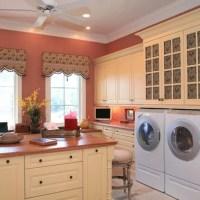 Laundry Room Small Window Treatment Ideas