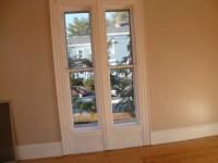 Tall narrow windows. Ideas for window treatments?