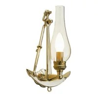 Shiplights - Anchor Wall Scone by Shiplights (Solid brass ...