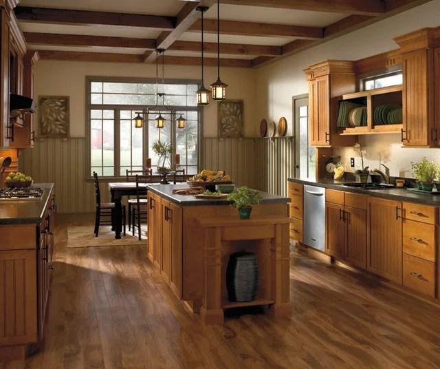 Dark gray kitchen cabinets aristokraft cabinetry birch for Aristokraft oak kitchen cabinets