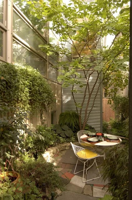 Paisagem Moderna por queimaduras e Beyerl Architects