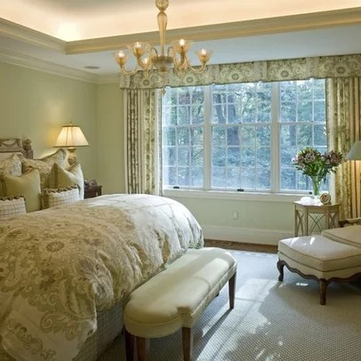 Bedroom Decorating Ideaswindow Treatmentstraditional Home