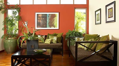Frugal with a Flourish Fear and Loathing in my Living Room - tropical living room furniture