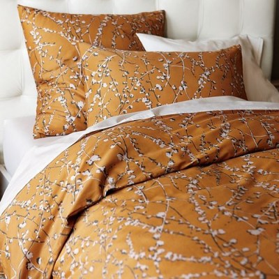 Cherry Blossom Duvet Cover + Shams modern bedding