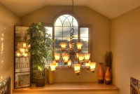 ~ delicious decor ~: How to decorate a high ledge in a