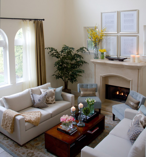 Designing Home 10 Tips for decorating a small living room - very small living room ideas
