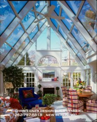 Custom Sunroom Addition - Vaulted Ceiling - Traditional ...