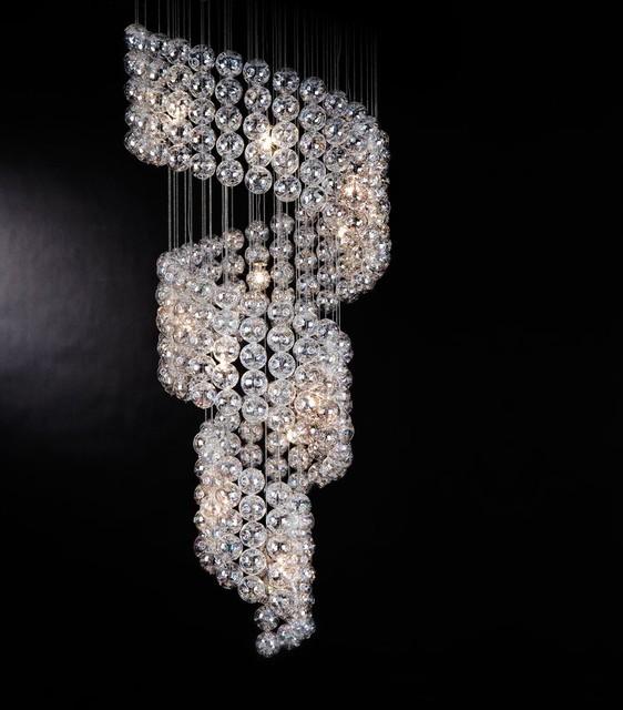 Trend lighting cascade chandelier tp7940 modern