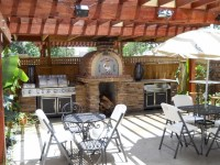 The Jordan Family Wood Fired Pizza Oven & Patio Pizzeria ...