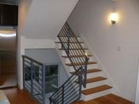Horizonatal railings - Contemporary - Staircase ...