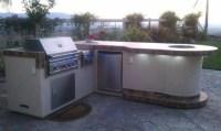 Backyard BBQ Island - Contemporary - Outdoor Grills - los ...