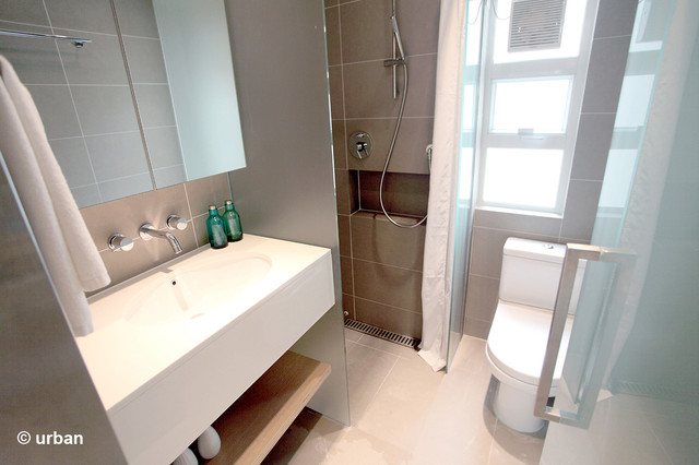 Small Bathroom Pictures Before And After Atria Serviced Apartment Standard Studios - Contemporary ...