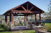 Outdoor Patio Structure for Entertaining in Katy, TX ...