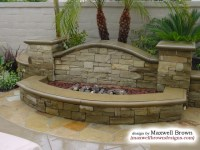 Fire Pit in Huntington Beach - Eclectic - Landscape ...