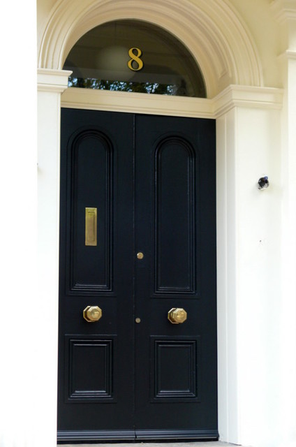 gold house numbers traditional front doors other