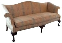 Pre-owned Queen Anne Style Camelback Sofa - Transitional ...