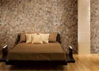 Teak Tiles Mosaic Wood Tiles - Traditional - Bedroom ...