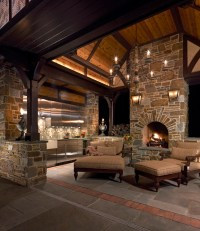 Outdoor Living Room - Traditional - Patio - philadelphia ...