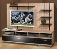 Eclipse Entertainment Center - Modern - Display And Wall ...